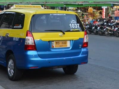 Желтые номера — маршрутки, автобусы, такси