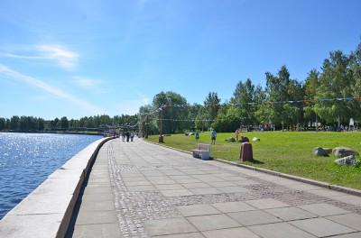 Набережная в Петрозаводске