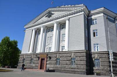 Здание МВД по Республике Карелия