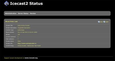 IceCast — Server Status