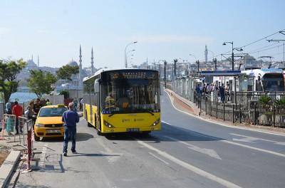 На автобусе