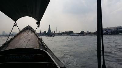 Прогулка на лодке пореке Чаупхрая (г. Бангкок)