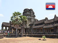 Камбоджа: Сиемреап, Ангкор Сити, Сиануквиль (2017 год, март)