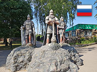 Россия: Козельск (2018 год, июль)